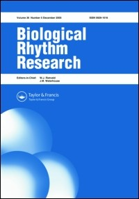 Biological Rhythm Research Publications