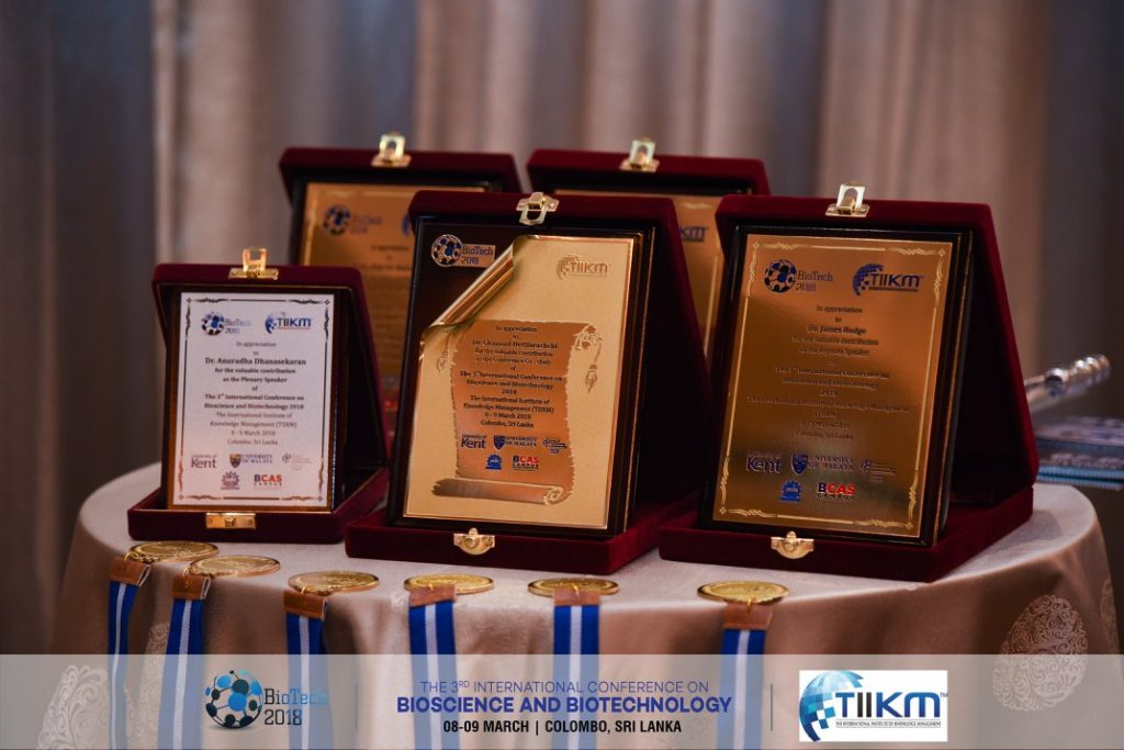 Presentation Awards biotech 2019